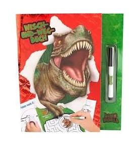 Libro Pasatiempos Borrable Dino World