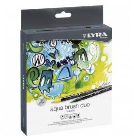 Pack Rotuladores Aqua Brush Duo 36ud