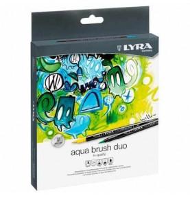 Pack Rotuladores Aqua Brush Duo 24ud