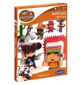 Paper toys-Far west