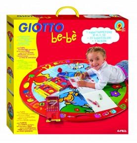 Alfombra de bebe con pinturas para jugar de Giotto Bebe