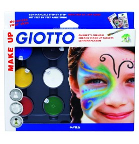 Giotto Make-Up Sombras Ojos 6ud
