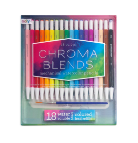 Lapiceros Acuarelables Mechanical Chroma Blends Ooly 18ud