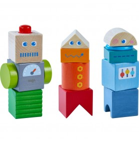 Bloques para Descubrir Amigos Robots