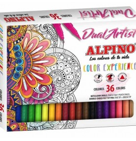 Pack Rotuladores Dual Artist Color Experience 36Ud