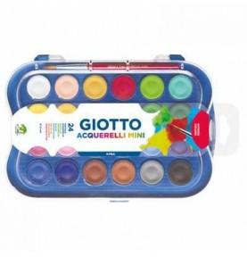 Acuarelas Mini 24 Colores Giotto