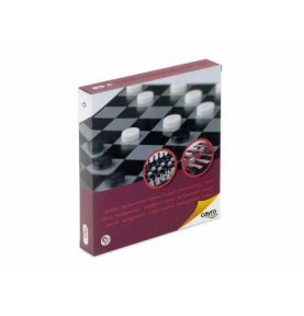 Ajedrez-Damas-Backgammon Magnético Viaje