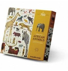 Puzzle World of African Animals 750Pzas