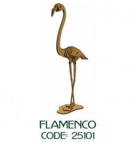 Maqueta Madera-Flamenco