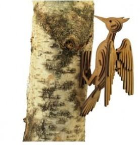 Maqueta Madera-Pájaro Carpintero