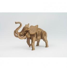 Maqueta Madera-Elefante