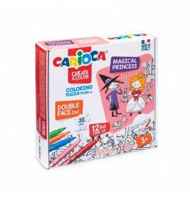 Create&Color Coloring Puzzle Magical Princess