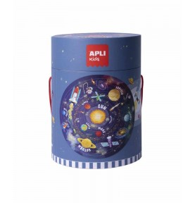 Puzzle Circular Sistema Solar 48Pzas