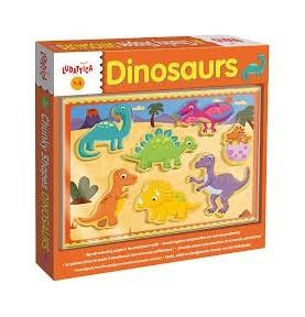 Encajable Dinosaurios Ludattica
